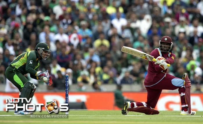 Against Pakistan in West Indies' opening match, he scored a patient 39 off 47 deliveries. Just when it looked like he has set-up a foundation for himself and his side, Gayle was bowled by Saeed Ajmal.