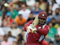 Photo : Chris Gayle Bats Up a Storm, Leaves Proteas Shattered