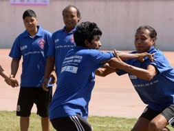 Photo : Asia's first gay sports tournament begins in Nepal