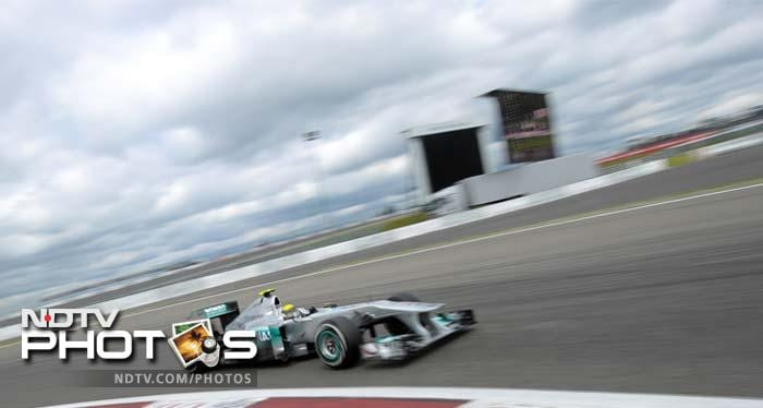 Mercedes GP took the seventh and eight position through Nico Rosberg and Michael Schumacher.
