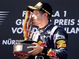 German GP: Vettel and fires dominate Nurburgring