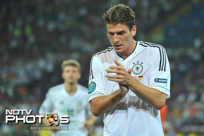 It was Mario Gomez who opened the scoring. He settled down whatever nerves the Germans might have been carrying. (AFP Photo)