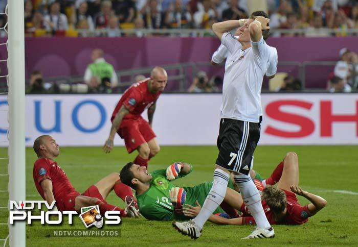Germany had the better of the opening exchanges.