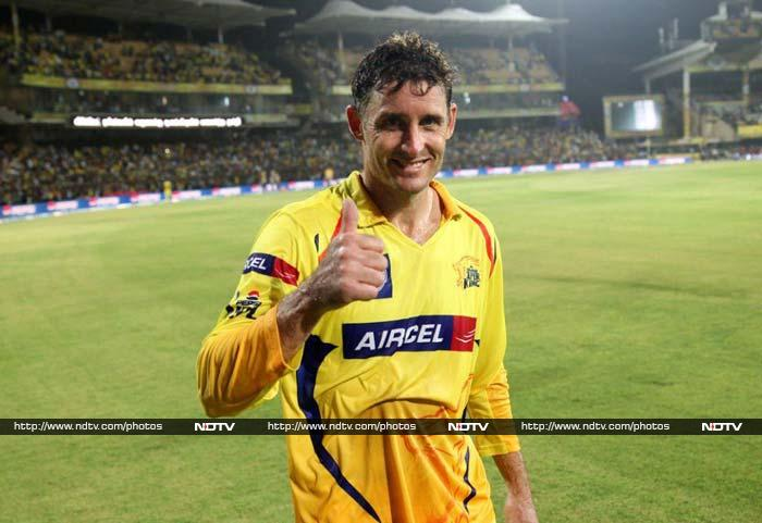 Michael Hussey won the Orange Cap in this year's IPL. He is a prime example that age is just a number and is without a doubt Chennai's batting fulcrum.