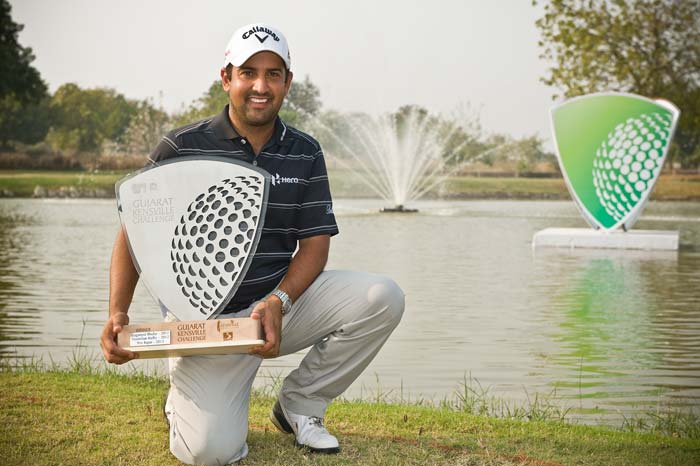 India's Shiv Kapur held on to his overnight lead as he went on to win the Kensville Challenge.