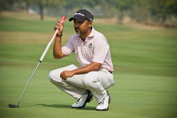 Rahil Gangjee too had an impressive showing.
