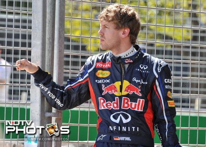 All eyes were on Vettel but the Red Bull team had an average day. The German took sixth spot in the qualifiers. Teammate Mark Webber fared a spot better.