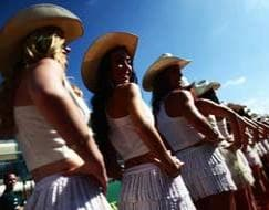 Photo : US Grand Prix: The Texas grid girls