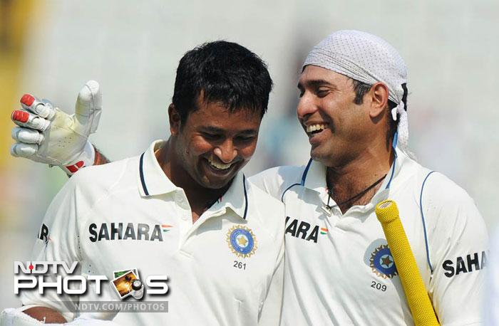 <b>73 not out vs Australia at Mohali 2010 India won by 1 wicket:</b> Set 216 to win India were down and out at 124/8. When all seemed lost VVS Laxman chose to play a 'Very Very Special' innings. He hit 73 runs while batting with a runner and was instrumental in one of India's greatest Test wins over the then world champions. India would go on to win by 1 wicket and Australia's confidence was severely dented.