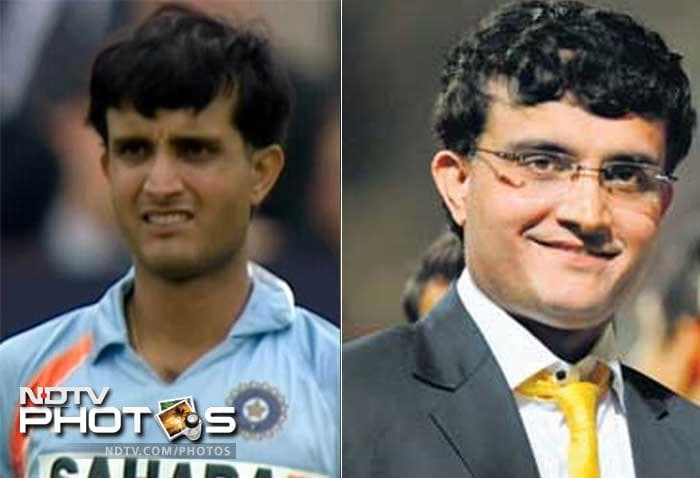 <b>Sourav Ganguly: </b> He was never a style conscious person. But that till he did not lose his hair. He went for hair transplant and that changed his look.