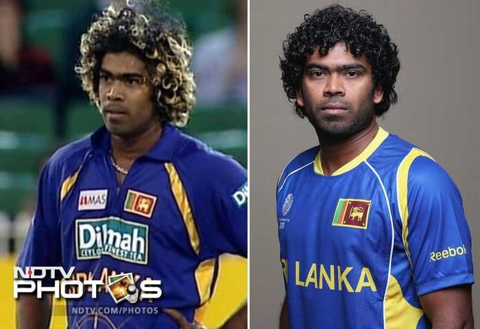 <b>Lasith Malinga: </b> This slinging speedster can be intimidating to batsmen when he comes running to bowl with those golden curls, pierced brows and deadly stare.