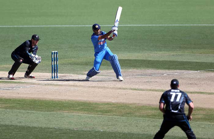 Dhoni, who scored his third fifty in-a-row, smashed 79 unbeaten off 73 balls with the help of 6 fours and 3 sixes.