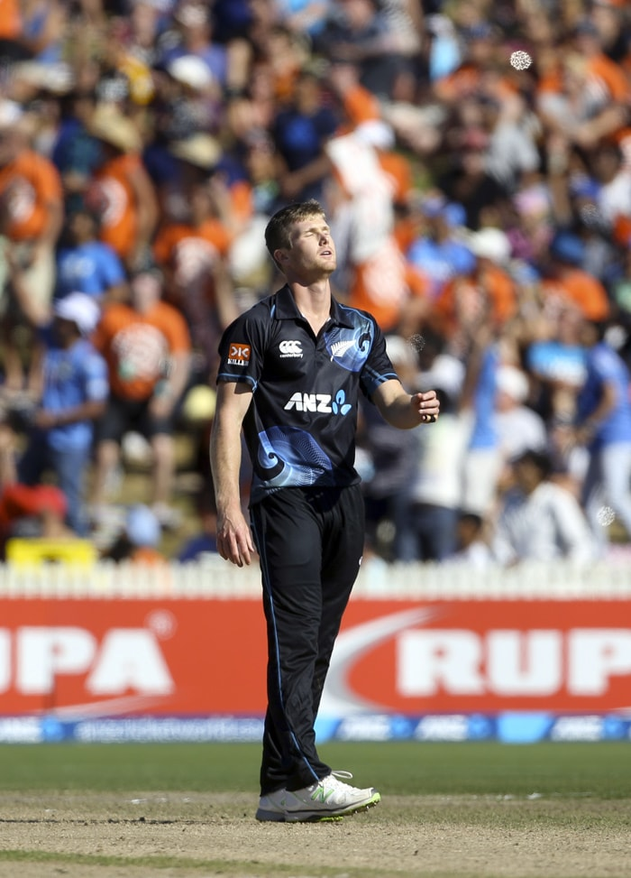 All-rounder James Neesham, who had replaced Corey Anderson in the Kiwi XI, could not fill the void with the ball, going wicketless in his 8 overs for 59 runs. Neesham was hit for 17 runs in the final over.