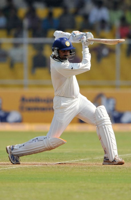 <b>Copybook stuff:</b> It all started with a gutsy knock in the first innings at Ahmedabad, after a middle order collapse threatened India's lead. But Harbhajan's timely 69 helped India go ahead.