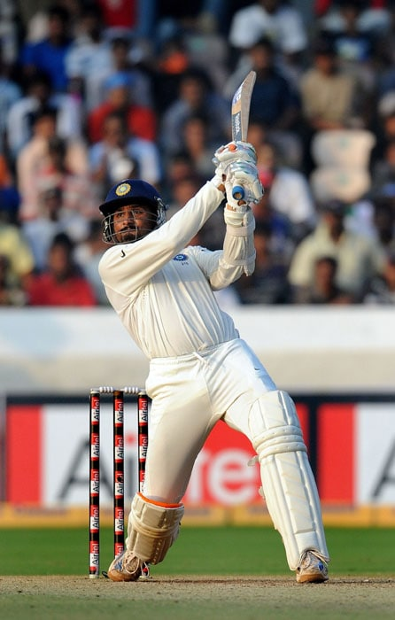 <b>Bhajji on song:</b> He smashed the bowlers all around the park.