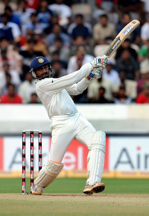 <b>Bhajji on song:</b> Used every orthodox and unorthodox shot to plunder the New Zealand bowlers, hitting Daniel Vettori for consecutive sixes.