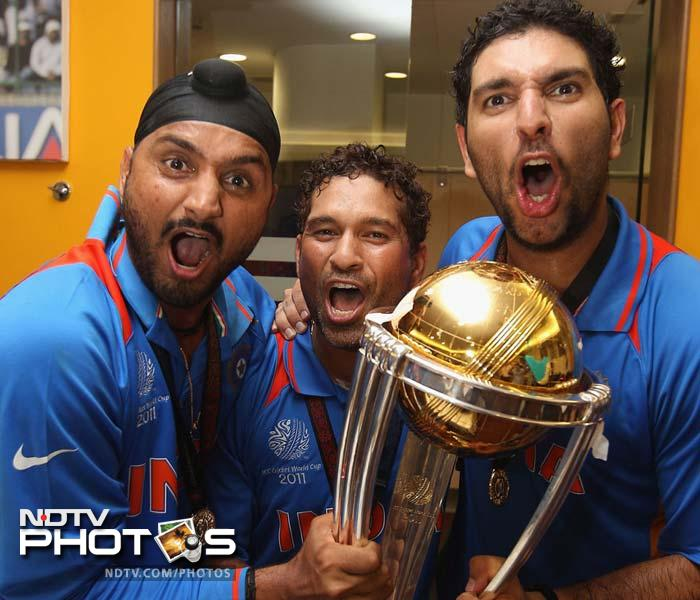 2011: Is part of the World Cup winning squad as India capture the title for the first time in 28 years. (AFP Photo)
