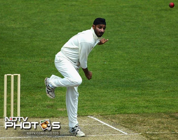 2004: His Doosra comes under the scanner during the 2nd Test against Bangladesh at Chittagong as he is reported for a suspect action by match referee Chris Broad, on-field umpires Aleem Dar and Mark Benson, and TV umpire Mahbubur Rahman. He is however, cleared by the ICC in May 2005 after the cricketing body confirms that the straightening of his elbow fell within the permissible limits. (AFP Photo)