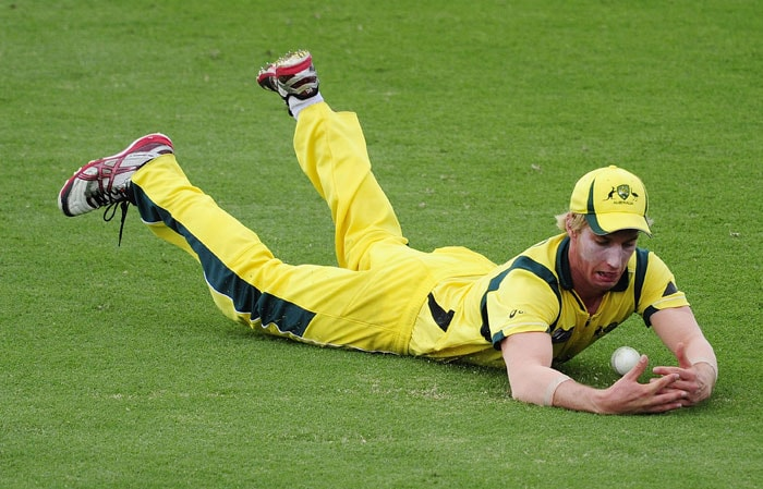 William Bosisto fields the ball during the 2012 ICC U-19 Cricket World Cup Final between Australia and India at Tony Ireland Stadium. (Photo: ICC/Getty Images)