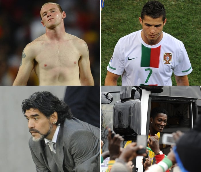 The World Cup is certainly a stage which can make or break careers. For some it offers an opportunity to find their mark and have a shot at glory, but for some, who already have a larger-than-life status, it becomes extremely hard to live up to their reputation. <br><br> Massive crowd, national responsibility and wide expectations are the factors which contribute to the nerves and make matters worse for these big names. Here's a look at some of the players who entered the tournament on a high but left on a disappointing note, making them from Heroes to Zeros.