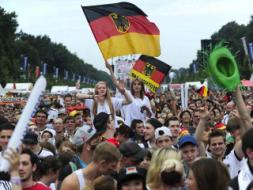 Jubilant Fans Welcome World Champions Germany Home