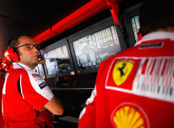 Team Principal Stefano Domenicali will once again be the main cog in the team running the operations. (Getty Images)