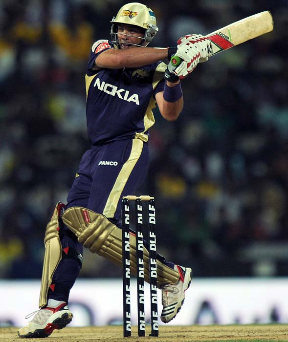 The fact that he has rolled his arms over as well, is an added bonus for the Knight Riders. He bowled his full quota of overs against the Rajasthan Royals at Jaipur and followed it up with an unbeaten 80.