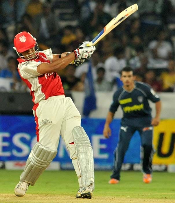 Valthaty followed his knock with an equally impressive all round performance against the Deccan Charger when he claimed four wickets and came back to open, smash and finish on 75 runs off 47 balls with five sixes.
