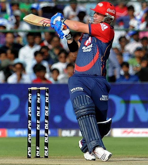 David Warner: Another batsman who is coming into his groove after a slow start is David Warner. He failed to start for the Daredevils in the first match when he managed all of 1 against the Mumbai Indians. He has since scored 54 off 44 against the Rajasthan Royals and a blinding 46 which was cut short by a run out aganist the Pune Warriors.
