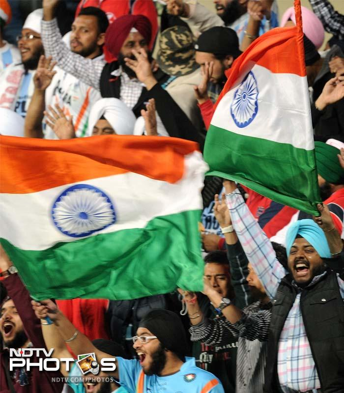 Indian fans reached record decibel levels as their team powered to the Olympics after a gap of 8 years, downing France 8-1 at the National Stadium on Sunday. A look at the brazen display of attacking stick-work. (AP and AFP images)