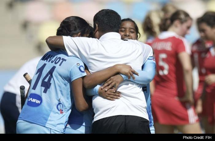 Indian girls created history by winning country's first ever bronze medal in the junior women hockey World Cup as they pipped England 3-2 on penalties, riding on striker Rani's dazzling show.
