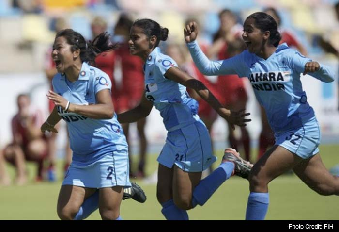Navneet had missed her earlier stroke but she beat the rival goalkeeper in her second attempt as India gained upper hand again.