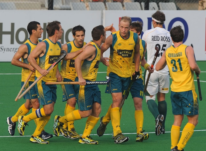 The Kookaburras, who led 5-0 at half-time, surpassed Pakistan's 12-3 romp over New Zealand in the 1982 edition in Mumbai, which was the previous highest victory margin in the World Cup. (AFP Photo)