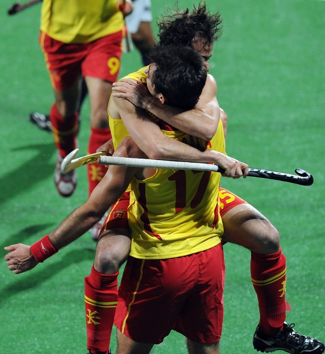 India's semifinal hopes virtually went up in smoke after Spain spanked them 5-2 in a crucial Pool B match of the hockey World Cup. (AFP Photo)