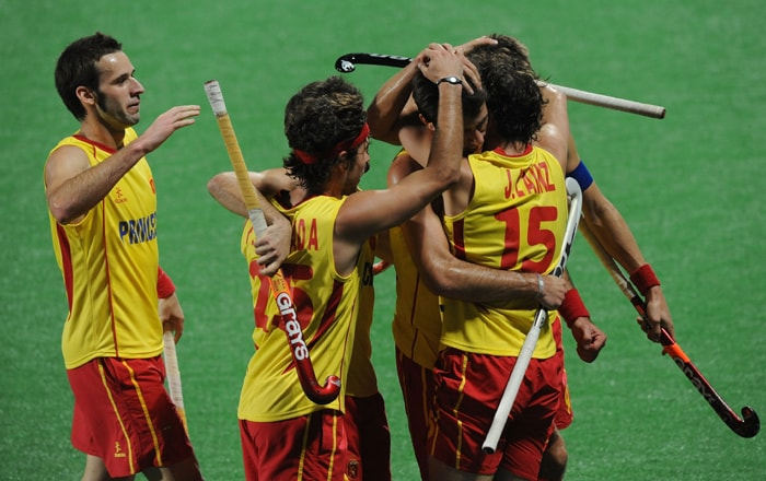 India will next play unbeaten England on Saturday while Spain will be up against title favourites Australia. (AFP Photo)