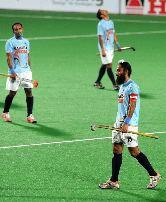 For Spain, Paul Quemada (41st minute, 67th) struck twice while Albert Sala (19th minute), captain Pol Amat (35th) and Ramon Alegre (42nd) were the other goal-getters. Sandeep Singh (39th) and Gurvinder Singh Chandi (43rd) scored the consolation goals for India. (AFP Photo)