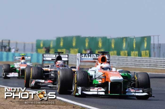 The Force India's had a torrid time in Hungary, with both Adrian Sutil and Paul di Resta failing to finish.