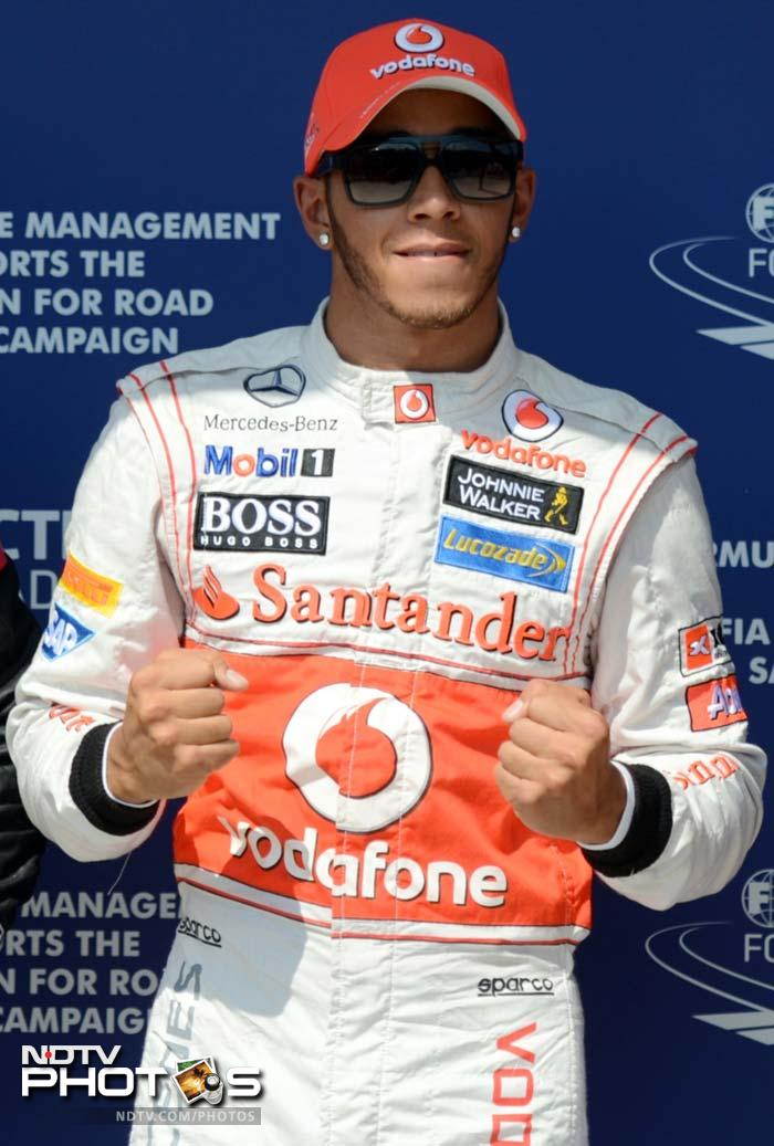 McLaren's Lewis Hamilton grabbed his 21st career pole in Budapest and looked set to take the advantage all the way to the chequered flag. A look at the proceedings in the qualifying sessions.