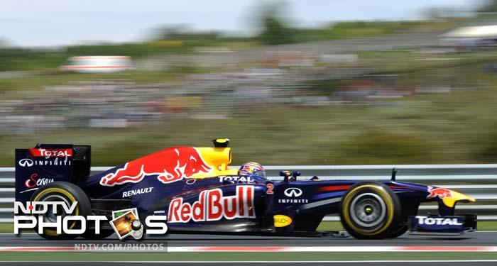 Vettel's Red Bull team-mate Mark Webber is way down at No. 6.