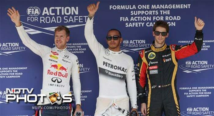 Red Bull and Mercedes have combined to take all 10 poles this season — with Vettel getting all three for Red Bull. But Mercedes has a low conversion rate from the front of the grid.