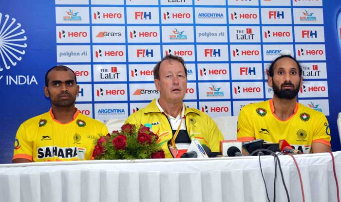 With the match over, India losing 2-1, their campaign ended at 6th spot as Belgium took the 5th position. India coach Terry Walsh (centre) said that he was pleased with the team's performance in the Hockey World League Final.
