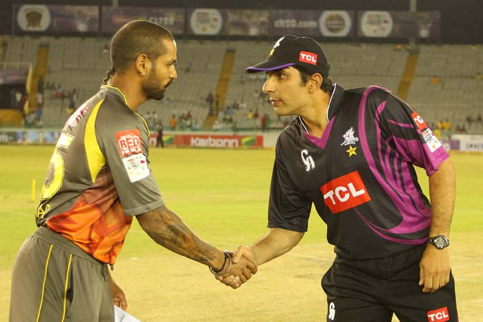 It was touted to be the Indo-Pak battle of the CLT20 with the IPL side Sunrisers Hyderabad clashing with Pakistan T20 champions Faisalabad Wolves at Mohali. (All BCCI images)