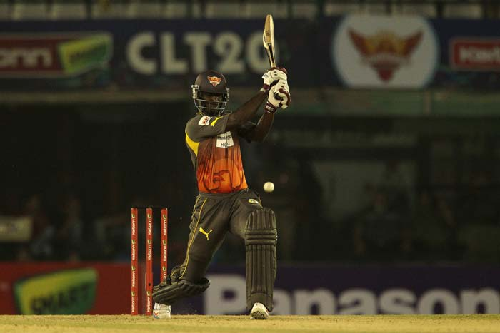 Darren Sammy ended things in a jiffy in the 18th over, hitting three consecutive fours of Asad Ali to register a 7-wicket win for the Sunrisers. Hyderabad were joined in the CLT20 main draw with Otago Volts, who had beaten Kandurata Maroons in the first match on Wednesday.