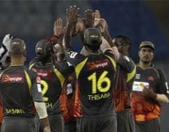 Photo : CLT20: Sunrisers Hyderabad beat Faisalabad Wolves to enter main draw
