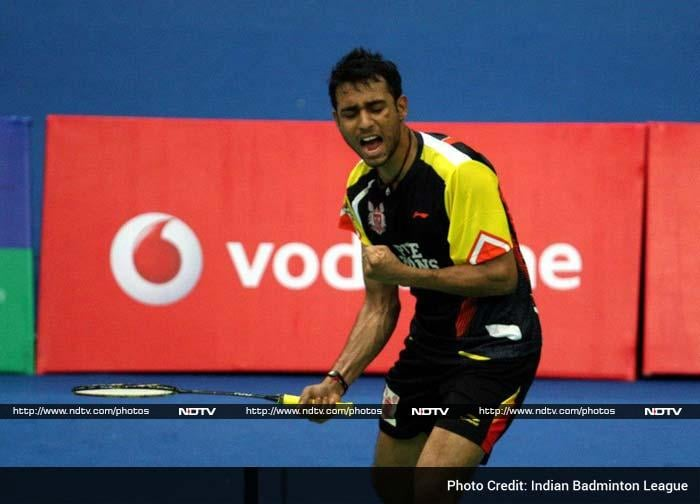 Sourabh Varma then caused another upset to beat favourite P Kashyap in the fourth tie. He won 19-21, 21-18, 11-4 after losing the first game.