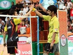 Photo : Indian Badminton League: Hyderabad Hotshots thrash Pune Pistons 4-1