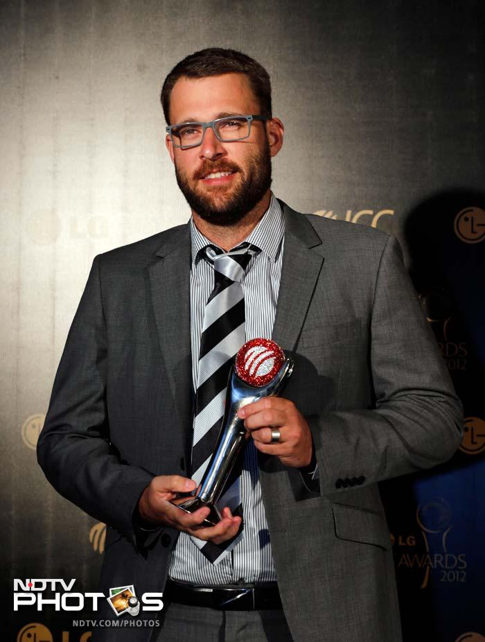 New Zealand's Daniel Vettori won the ICC Spirit of Cricket Award.