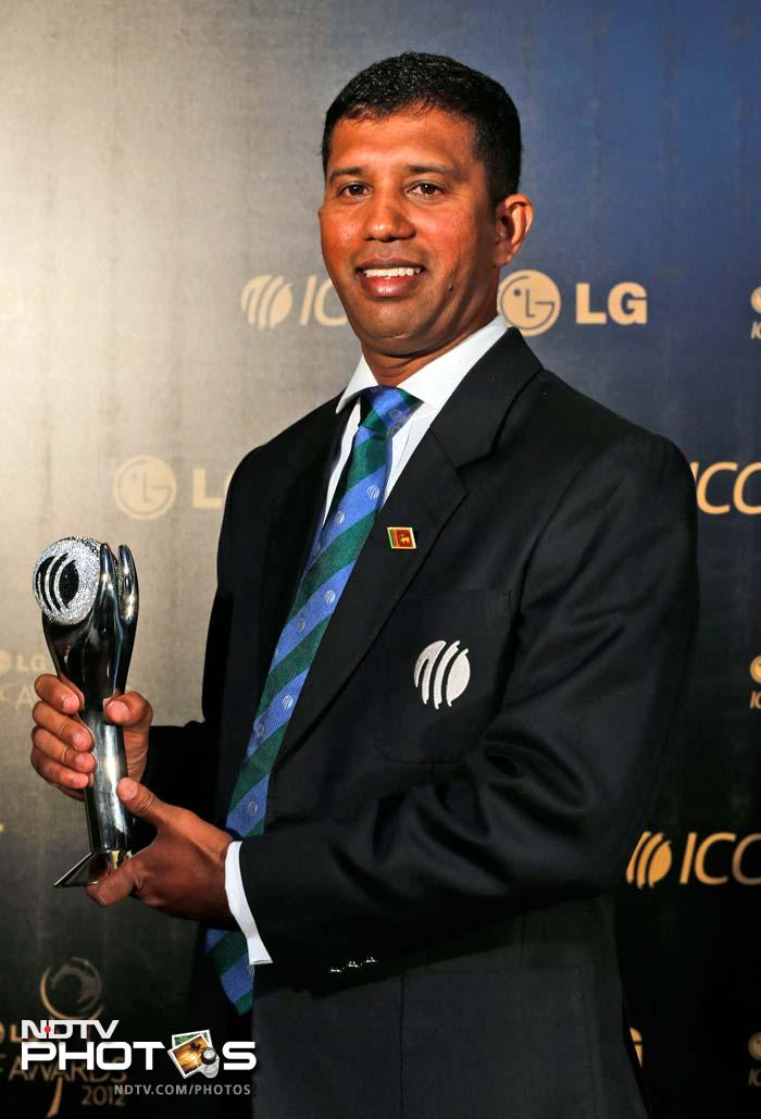 Sri Lanka's Kumar Dharmasena is the ICC Umpire of the Year. He said it was great to be honoured after being in the list of Elite Umpires for only a short while.