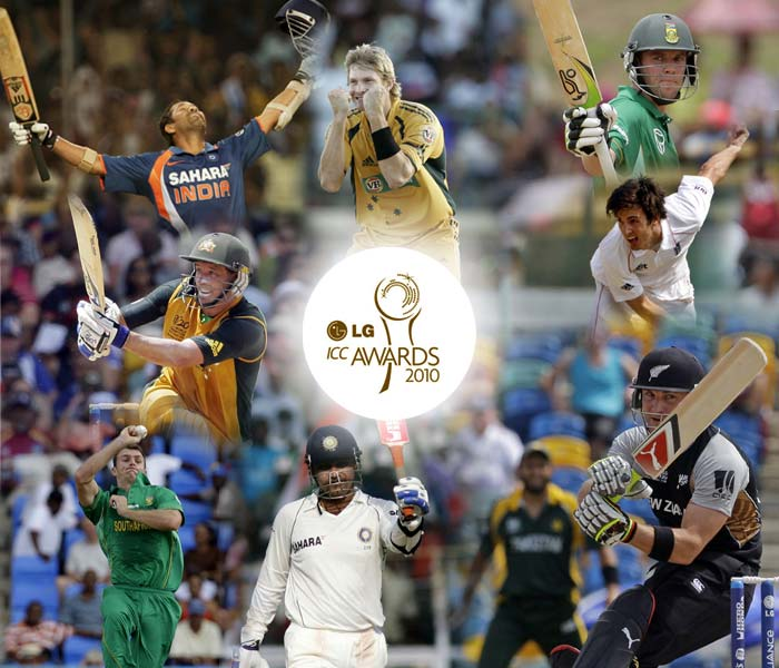 The seventh annual LG ICC Awards were held at Grand Castle, Bengaluru.<br><br>Up for grabs were nine individual awards and three team honours with the ICC Spirit of Cricket Award as well as the World Test and ODI Teams of the Year Award.<br><br>Here is a look at the nominees.