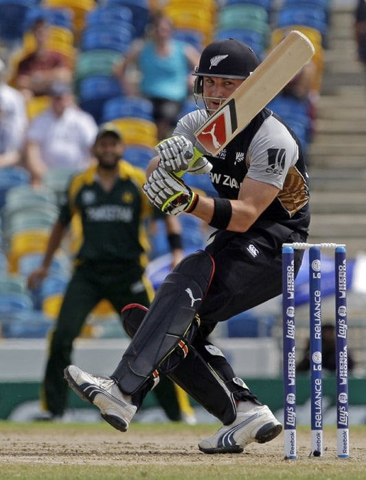 Brendon McCullum from New Zealand
